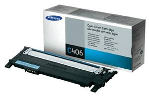 Samsung CLT-C406S [OEM] Genuine Cyan Toner Cartridge for CLP-365W CLX-3305FW Printer