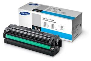 Samsung CLT-C506L Cyan [OEM] Genuine High Yield Toner Cartridge CLP-680 CLX-6260