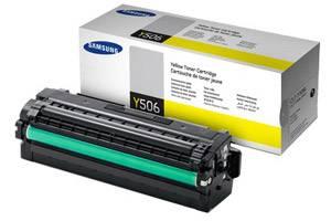 Samsung CLT-Y506S Yellow [OEM] Genuine Toner Cartridge CLP-680 CLX-6260 Printers