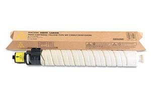 Ricoh 841339 Original Yellow Toner Cartridge for Aficio MPC2000 MPC2500 MPC3000