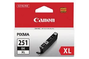 Canon CLI-251XL High Yield Black OEM Genuine Ink Cartridge for Pixma MG5420 MG6320 MX722