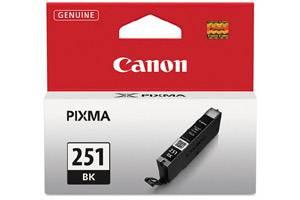 Canon CLI-251 Black OEM Genuine Ink Cartridge for Pixma MG5420 MG6320 MX722