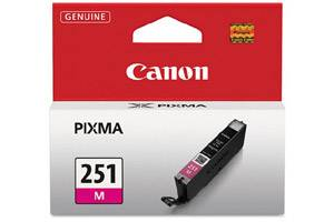 Canon CLI-251 Magenta Original Ink Cartridge Pixma MG5420 MG6320 MX722