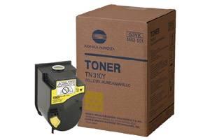 Konica Minolta 4053-501 TN310Y Yellow [OEM] Genuine Toner Bizhub C350