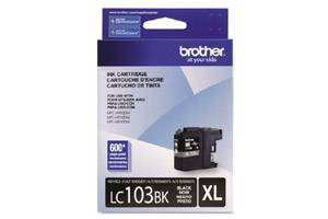 Brother LC103BK OEM Genuine Black Ink Cartridge for MFC-J285DW J4310DW J4410DW