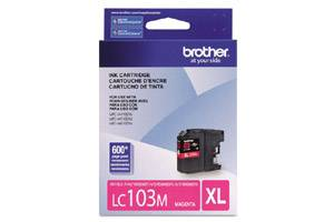 Brother LC103M OEM Genuine Magenta Ink Cartridge for MFC-J285DW J4310DW J4410DW