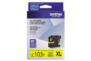Brother LC103Y OEM Genuine Yellow Ink Cartridge for MFC-J285DW J4310DW J4410DW