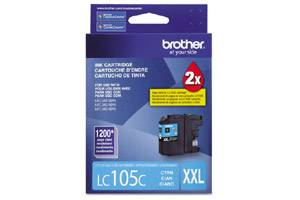 Brother LC105C OEM Genuine Cyan Ink Cartridge for MFC-J4310DW J4410DW J4510DW