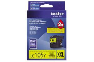 Brother LC105Y OEM Genuine Yellow Ink Cartridge for MFC-J4310DW J4410DW J4510DW