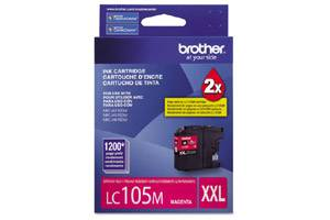 Brother LC105M OEM Genuine Magenta Ink Cartridge for MFC-J4310DW J4410DW J4510DW