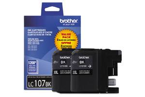 Brother LC1072PKS OEM Genuine Black Ink Cartridge for MFC-J4310DW J4410DW J4510DW