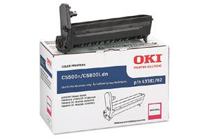 Okidata 43381702 Magenta [OEM] Genuine Image Drum Unit for C5500 C5650 C5800