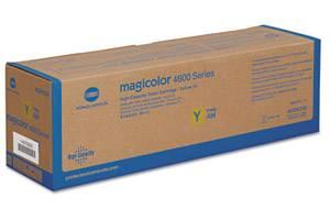 Minolta A0DK232 Yellow High Yield OEM Genuine Toner Cartridge