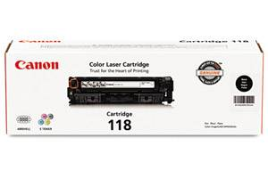 Canon 118 [OEM] Genuine Black Toner Cartridge for ImageClass MF8350