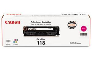 Canon 118 OEM Genuine Magenta Toner Cartridge for ImageClass MF726Cdw
