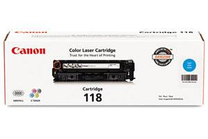 Canon 118 [OEM] Genuine Cyan Toner for ImageClass MF8380 MF726Cdw