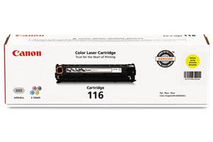 Canon 116 [OEM] Genuine Yellow Toner Cartridge for ImageClass MF8050