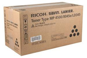 Ricoh 841346 Original Black Toner Cartridge for Aficio MP3500 MP4000 MP5000