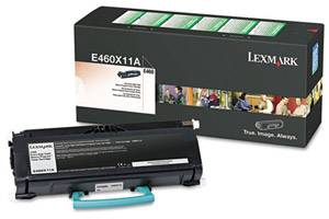 Lexmark E460X11A [OEM] Genuine High Yield Black Toner Cartridge E460 E460dn E460dw