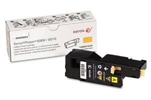 Xerox 106R01629 [OEM] Genuine Yellow Toner Cartridge for Phaser 6010 WorkCentre 6015