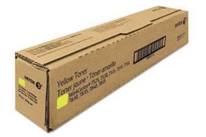 Xerox 6R1514 [OEM] Genuine Yellow Toner Cartridge for WorkCentre 7525 7845
