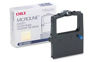 Okidata 52102001 [OEM] Genuine Black Ribbon Cartridge for Microline 120 320 321
