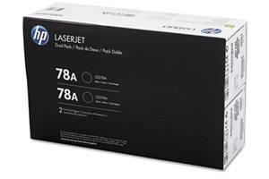 HP CE278D / 78A [OEM] Genuine Dual Pack Black Toner for LaserJet P1606