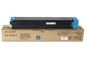 Sharp MX-C40NTC [OEM] Genuine Cyan Toner Cartridge for MX-C311 MX-C400P MX-C402SC