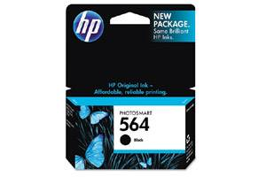 HP CB316WN (#564) OEM Genuine Black Ink Cartridge