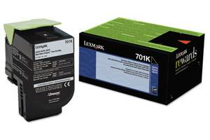 Lexmark 70C10K0 / 701K [OEM] Genuine Black Toner Cartridge for CS310 CS410 CS510