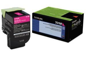 Lexmark 70C10M0 / 701M [OEM] Genuine Magenta Toner Cartridge for CS310 CS410 CS510
