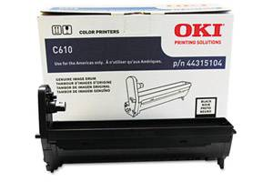 Okidata 44315104 [OEM] Genuine Black Drum Unit for C610 Series Printer