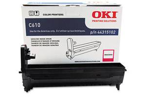 Okidata 44315102 [OEM] Genuine Magenta Drum Unit for C610 Series Color Printer