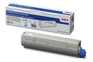 Okidata 44844511 [OEM] Genuine Cyan Toner Cartridge for C831 MC873