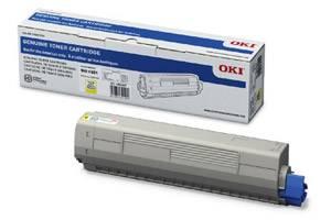 Okidata 44844509 Original Yellow Toner Cartridge for C831 MC873