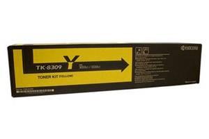 Copystar TK-8309Y [OEM] Genuine Yellow Toner Cartridge for CS-3050ci