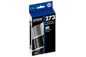 Epson T273120 (#273) [OEM] Genuine Photo Black Ink Cartridge