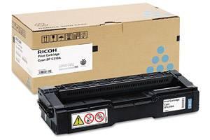 Ricoh 406345 Original Cyan Toner Cartridge for Aficio SPC231N SPC320DN