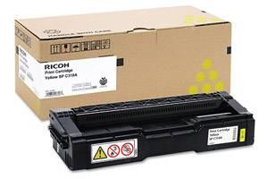 Ricoh 406347 Original Yellow Toner Cartridge for Aficio SPC231N SPC320DN