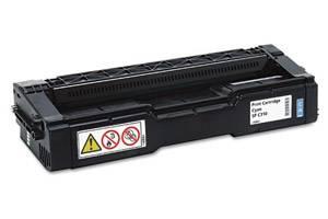 Ricoh 406476 Original High Yield Cyan Toner Cartridge for Aficio SPC231N SPC320DN