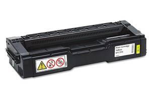 Ricoh 406478 Original High Yield Yellow Toner Cartridge for Aficio SPC231N SPC320DN