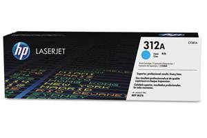 HP CF381A / 312A [OEM] Genuine Cyan Toner for LaserJet M476nw/dn/dw