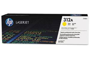 HP CF382A / 312A [OEM] Genuine Yellow Toner for LaserJet M476nw/dn/dw
