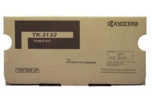 Kyocera Mita TK-3132 [OEM] Genuine Black Toner Cartridge for Ecosys FS-4300DN Printer