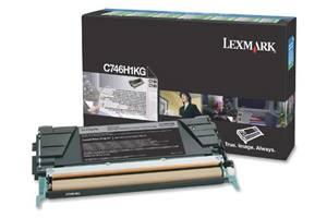 Lexmark C746H1KG [OEM] Genuine High Yield Black Toner Cartridge for C746DN C748DE