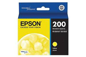 Epson T200420 [OEM] Genuine Yellow Ink Cartridge for WF-2520 XP-200