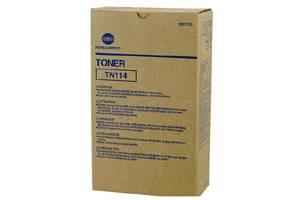 Konica Minolta TN-114 8937-782 [OEM] Genuine Black Toner (Box of 2)