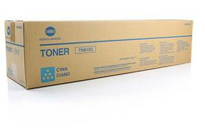 Konica Minolta A0TM430 TN-613C [OEM] Genuine Cyan Toner Cartridge