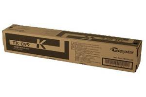 Copystar Kyocera TK-899K [OEM] Genuine Black Toner Cartridge