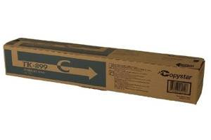Copystar Kyocera TK-899C [OEM] Genuine Cyan Toner Cartridge